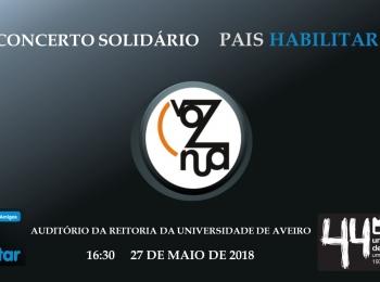 Está convidado!  Evento solidário domingo, 27 de maio 16:30